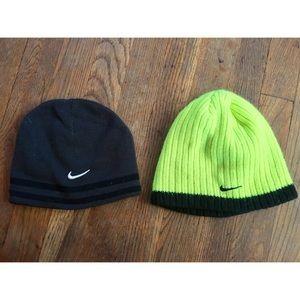 2 Nike beanie hats